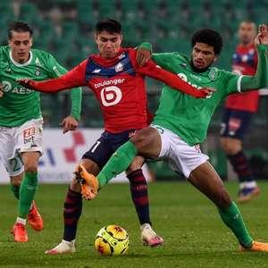 Lille empata com o Saint-Étienne e desperdiça chance de ...