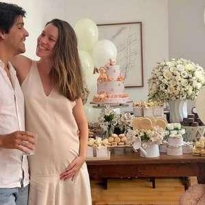 Nathalia Dill compartilha chá de bebê da filha Eva ao ...