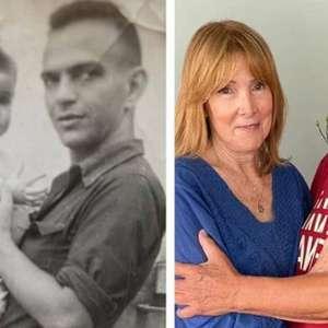 Lima Duarte posta 'antes e depois' de fotos com a filha; ...