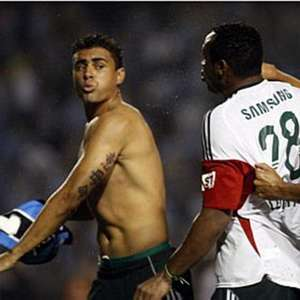 Maurício e Obina relembram briga: 'Palmeiras não ...