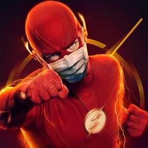 Gravações de The Flash são paralisadas após contágio de covid-19