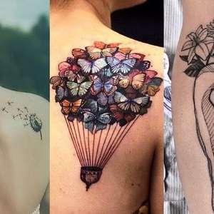 7 ideias de tatuagens que significam liberdade para você se inspirar
