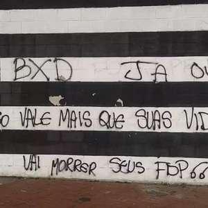 Muros do Engenhão e de sede do Botafogo amanhecem ...