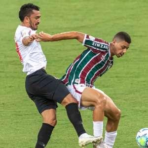 Com atuação fraca, Flu amarga empate com RB Bragantino