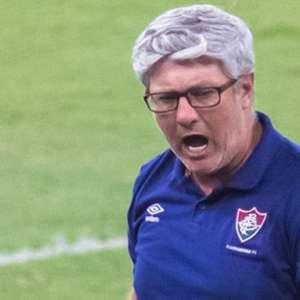 Odair Hellmann, sobre o Fluminense: 'Atletas estão dedicados em dar boas respostas, e elas vão acontecer'