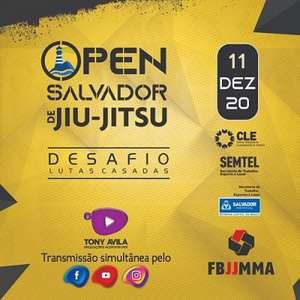 Com transmissão, Open Salvador de Jiu-Jitsu acontece em ...