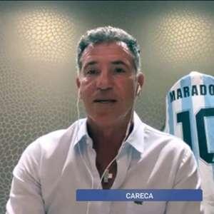 Careca sobre a morte de Maradona: 'Perdi um grande irmão'