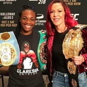 Bicampeã olímpica no Boxe, Claressa Shields migra para o ...
