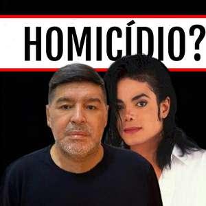 Sinistra coincidência une mortes de Maradona e Michael