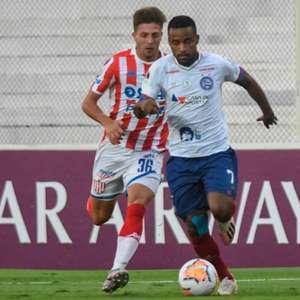 Bahia empata com o Unión e avança na Copa Sul-Americana