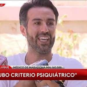 Médico de Maradona pede isenção de prisão preventiva, ...