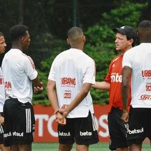 São Paulo faz último treino antes do Goiás; Arboleda ...