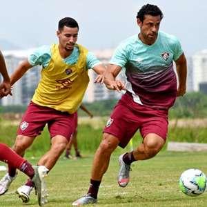 Fred volta aos treinos e pode reforçar o Fluminense ...