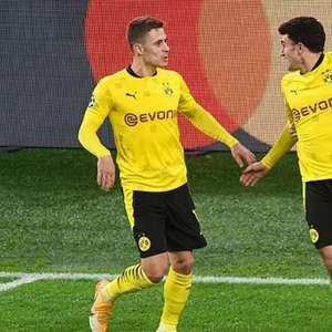 Dortmund empata com a Lazio e vai às oitavas da Liga dos ...