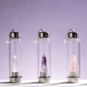 Água com cristal: energize seu corpo com essa técnica ...