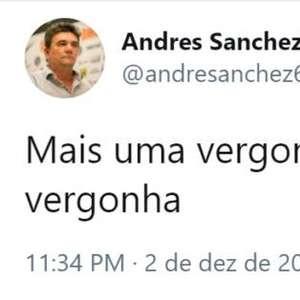 Presidente do Corinthians volta a criticar a arbitragem: ...