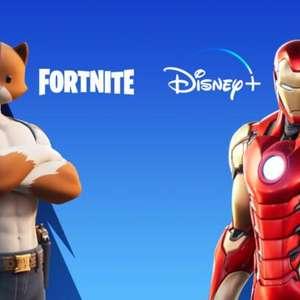 Fortnite oferece até dois meses grátis de Disney+ no Brasil