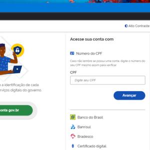 Bradesco permite fazer login no Gov.br usando conta do banco