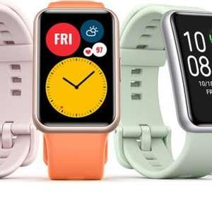 Huawei Watch Fit com bateria de 10 dias é lançado no Brasil