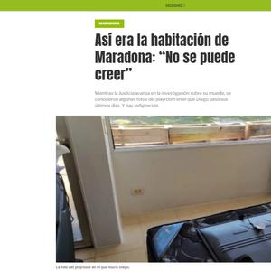 Imprensa argentina revela condições da casa em que ...
