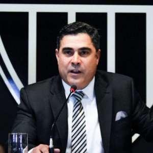 Adorei ver Flamengo se lascando, diz presidente do Atlético
