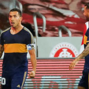 Tevez marca, homenageia Maradona e Boca Juniors sai na ...