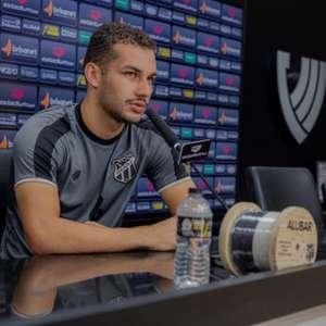 Pedro Naressi fala sobre primeiro gol pelo Ceará