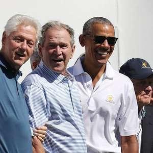 Obama, Bush e Clinton se oferecem para vacinação em público