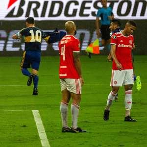 Inter perde para o Boca e se complica na Libertadores