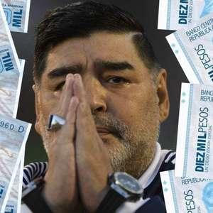 Irmãs de Maradona exigiam dinheiro para cuidar dele, diz TV