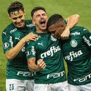 Palmeiras encanta e vira favorito para vencer a Libertadores