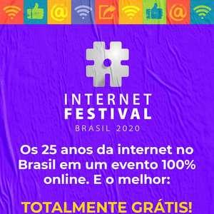 Evento celebra os 25 anos da internet no Brasil