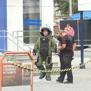 Bandidos usam explosivos em ataque à agência da Caixa em ...