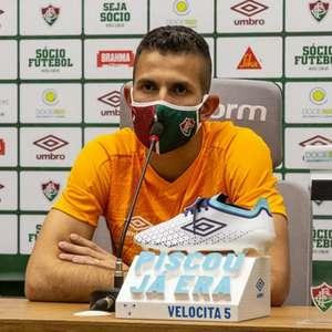 Marcos Felipe, sobre atuar na meta do Fluminense: 'Estou ...
