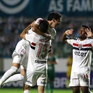 São Paulo encerra sequência de jogos fora de casa ...