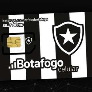 Botafogo lança operadora de telefonia móvel com cobertura 4G