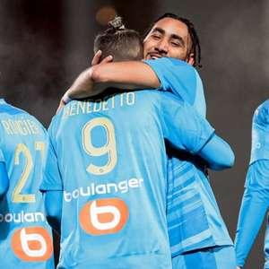 Olympique de Marselha vence Nîmes e pula para vice- ...