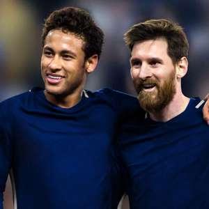Neymar e Leonardo pedem pela contratação de Messi no PSG