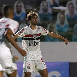 São Paulo pode atuar contra Sport com cinco titulares ...