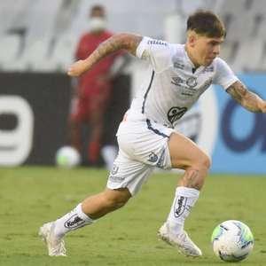 Santos perde três jogadores para duelo contra o Flamengo
