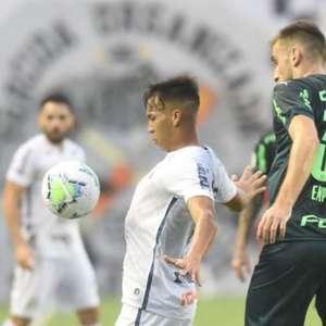 Empereur estreia como titular pelo Palmeiras com ...