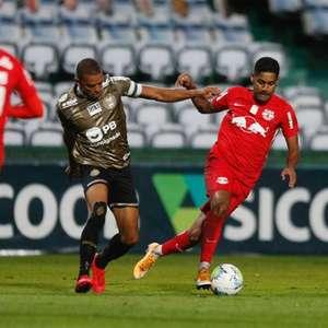Coritiba e Red Bull Bragantino ficam no 0 a 0
