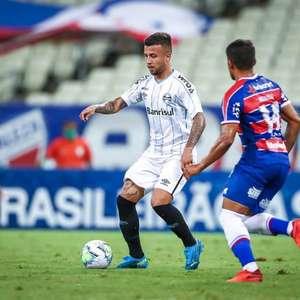 Na estreia de Enderson Moreira, Fortaleza e Grêmio empatam