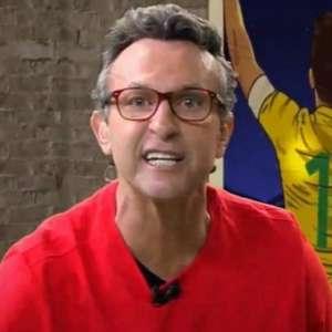 "Elenco do Fla ""faz força danada pra derrubar"" Ceni, diz Neto"
