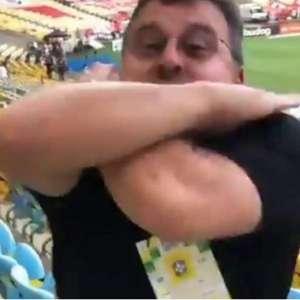 """Presidente do Ceará provoca e comemora vitória com """"Vapo"""""""