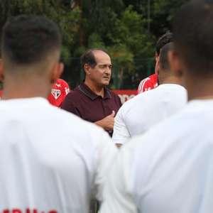 'Para ganhar tem que querer mais', afirma Muricy em reunião com elenco do São Paulo