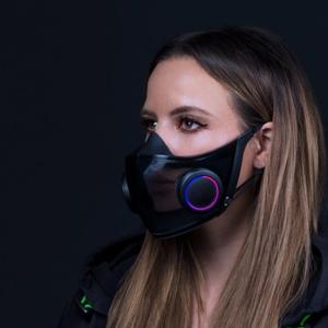 Razer revela conceito de máscara N95 com RGB para gamers