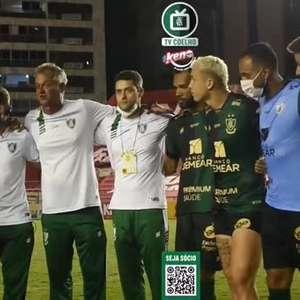 """AMÉRICA-MG: Lisca discursa para jogadores após conquista do acesso: """"somos o time que tem maior pontuação no Brasil"""""""