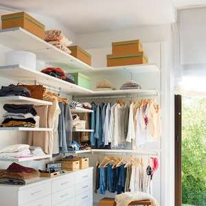 Como Fazer um Closet: +67 Ideias Práticas e Econômicas
