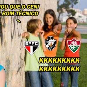 Memes tiram sarro de Rogério Ceni e Flamengo após derrota para o Ceará